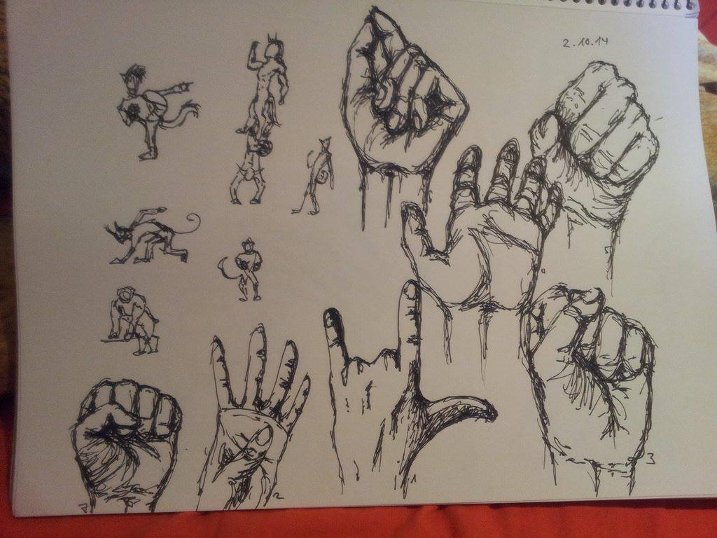 Hands 1 by Sandfeuer
