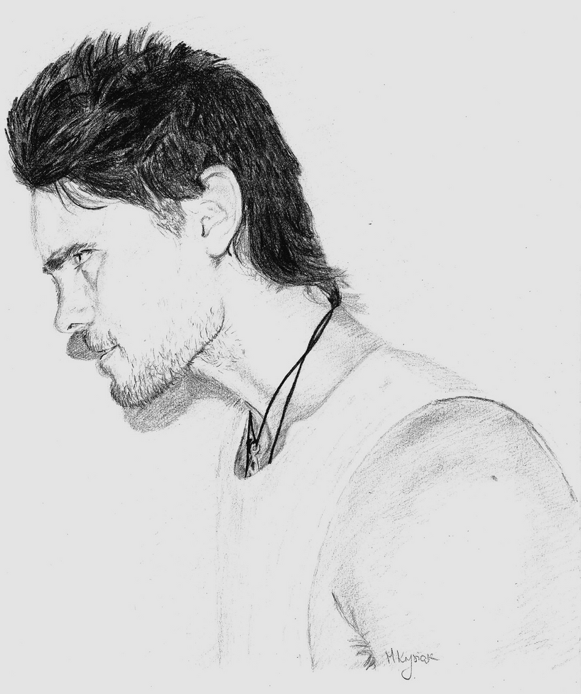 Side Face Line Drawing : Jared s side face by mmkrys