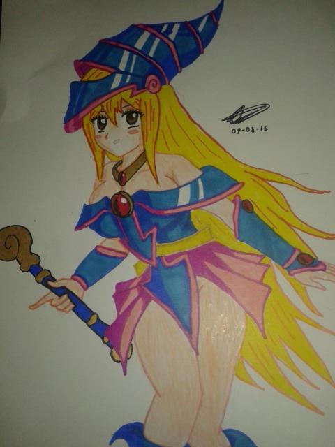 Lucy hearfilia cosplay dark magician girl