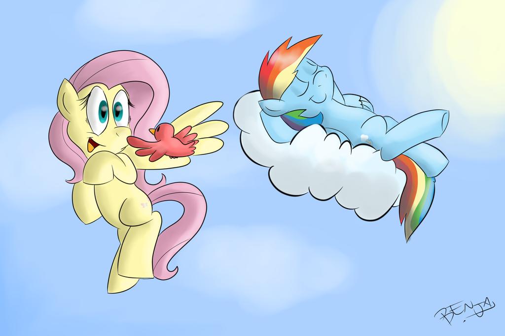 Pegasus... by MrBencha