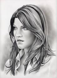 Debra Morgan by nabey