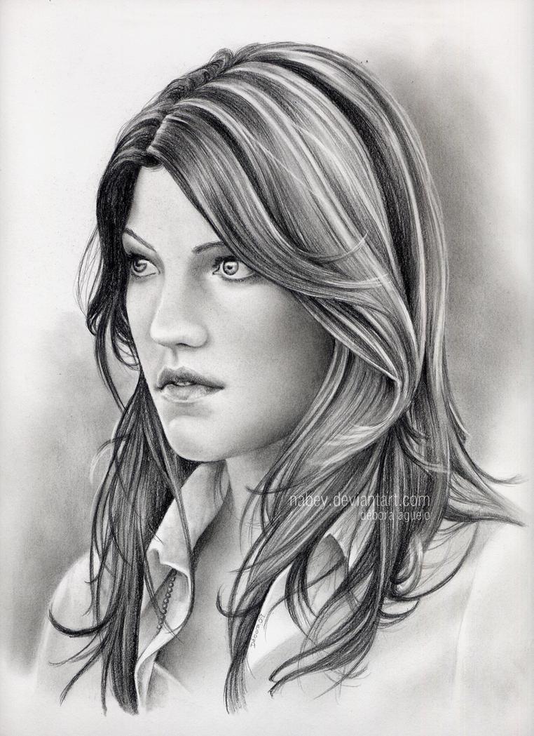 dibujos - dibujos de Dexter al carbon Debra_Morgan_by_nabey