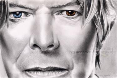 David Bowie by nabey