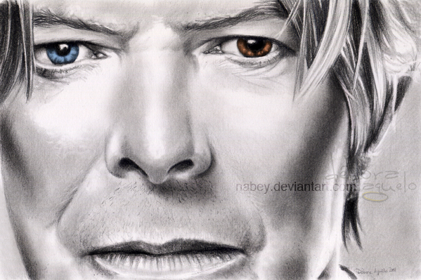 David Bowie by nabey