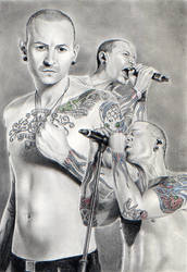 Chester Bennington by nabey