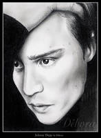 Johnny Depp by nabey