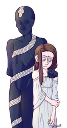 Coil and Dinah by synapsekisses