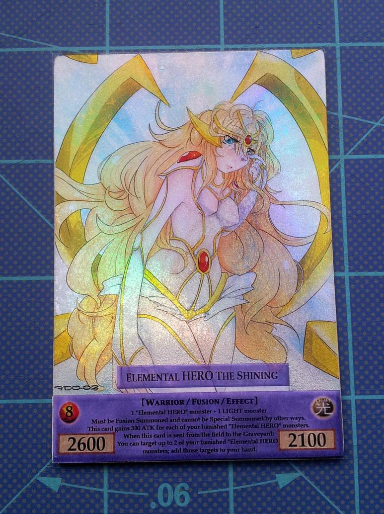 elemental hero the shining orica card by faeriesdice-d5nj93d jpgElemental Hero The Shining Orica