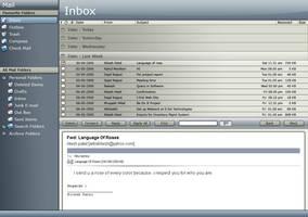 Mail Box Application Interface by artistritesh