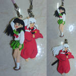 Inuyasha and Kagome Clay Figure