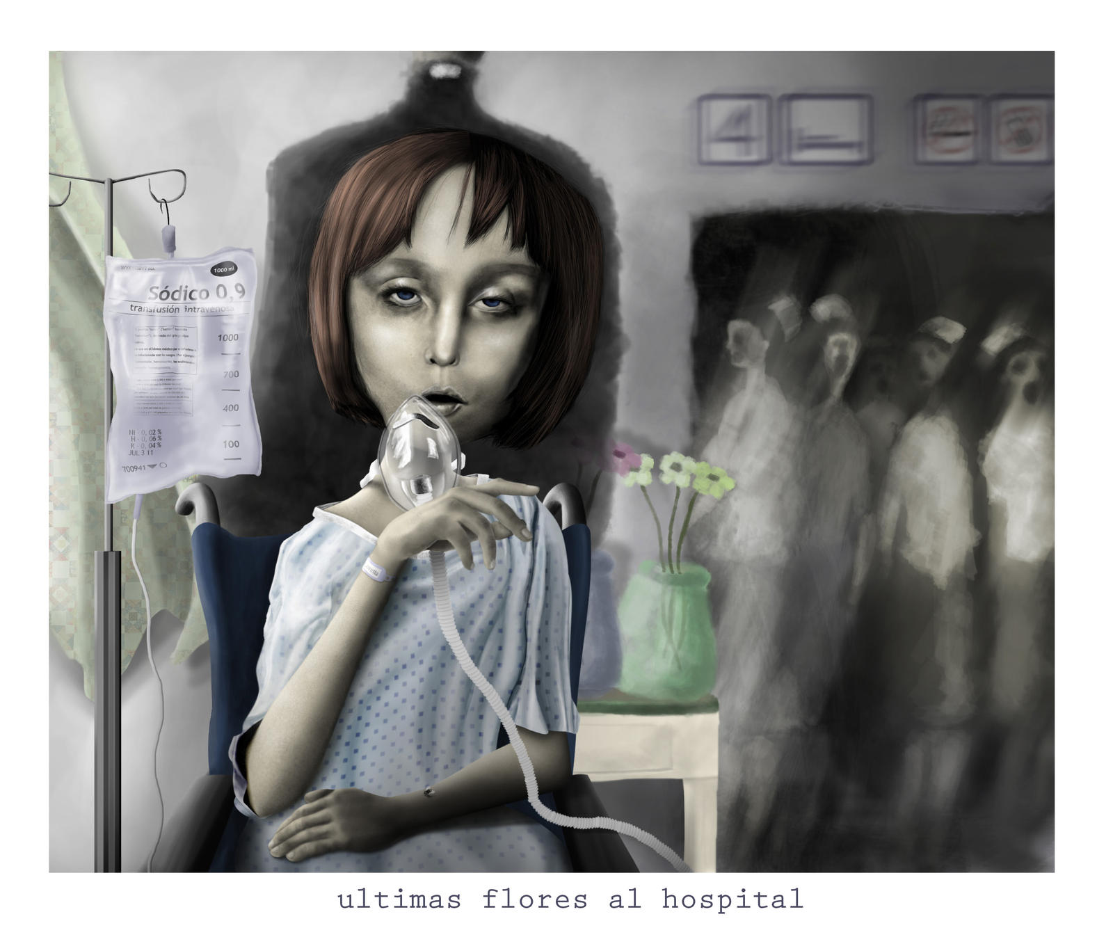 Last Flowers to the Hospital by ideoteqa on DeviantArt