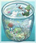 Moomins in a Jar