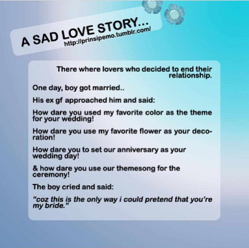 sad ending story essay