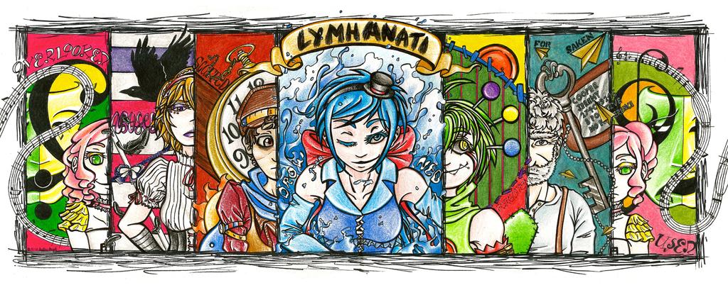 Meet the Lymphanati by ol-bear