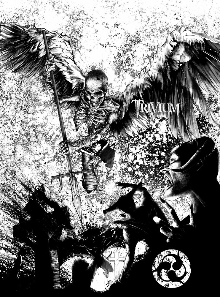 Trivium- Death Angel by dutchmocha
