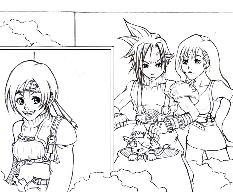 ff7 how to get yuffie
