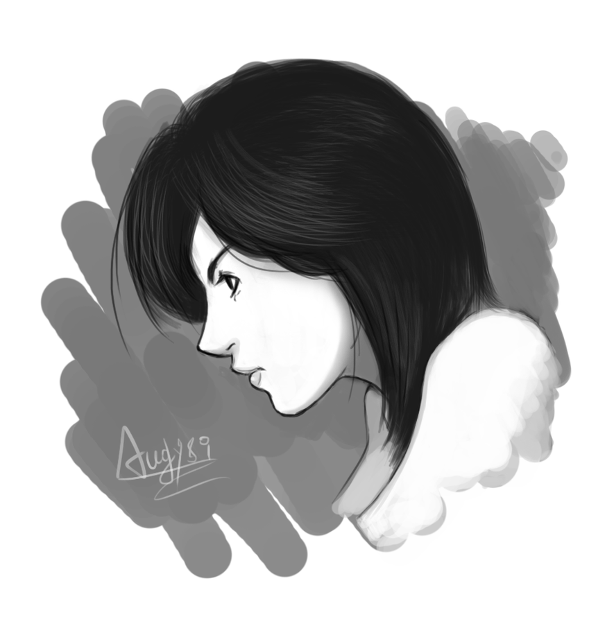Digital face girl 4 by Angy89