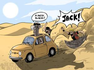 Due uomini e un cammello artwork 02 - color