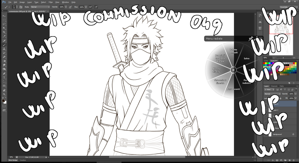 Wip commission 049 by Angy89