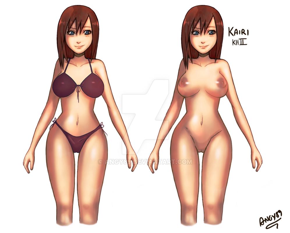 Hot Hot Hot :Kairi Bikini by Angy89