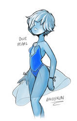 Steven universe : Blue pearl by Angy89