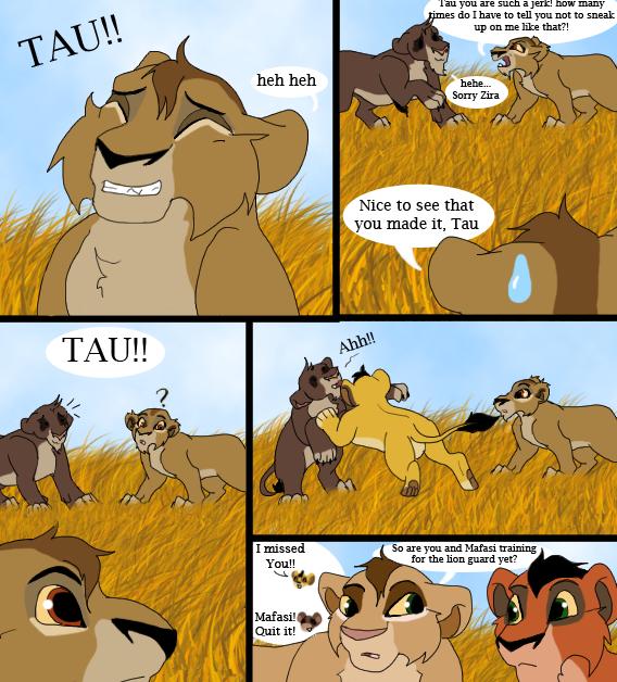 Taka's Lion Guard 13  by Tsukasa-FanTc