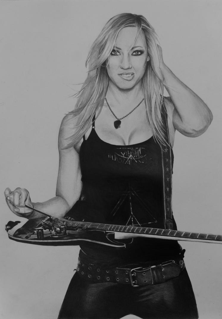 Nita Strauss By Tomtompix On Deviantart