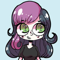Abby In Lavendertowne's Stlye by TabbyDragonz