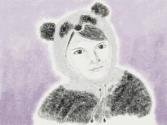 Panda Princess by stuffwhy