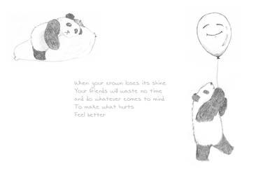 Perk up Panda Princess by stuffwhy