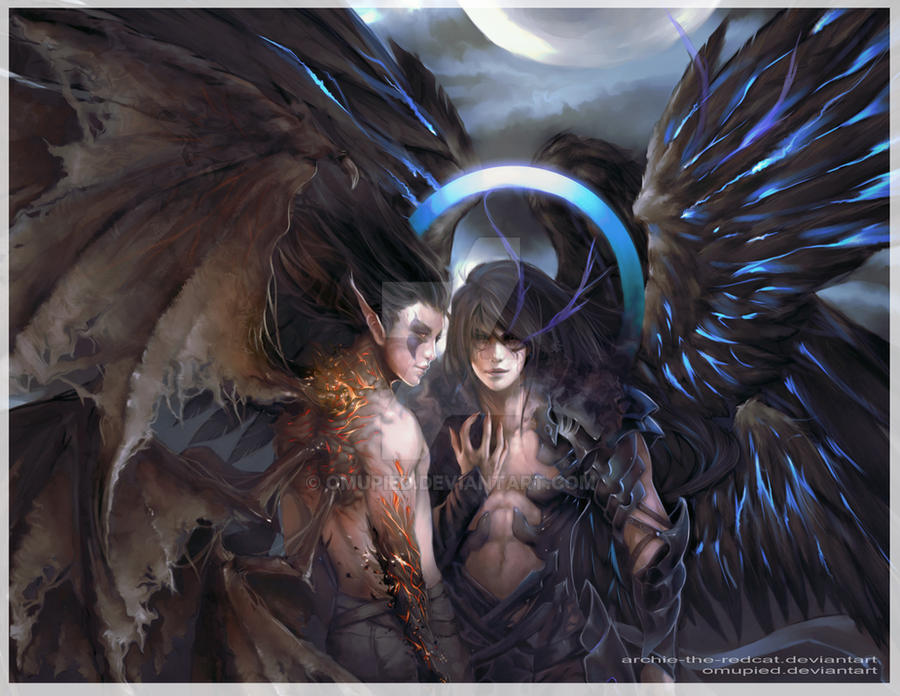 Demon and God Form by omupied on DeviantArt