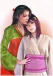 Akirako and Chinatsu