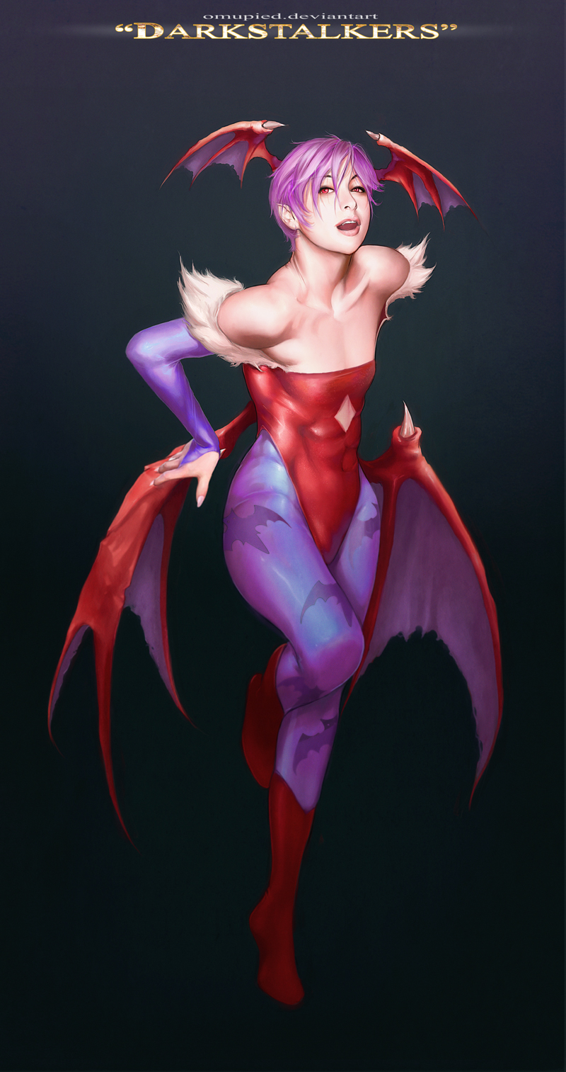 Lilith Darkstalkers FanArt by omupied