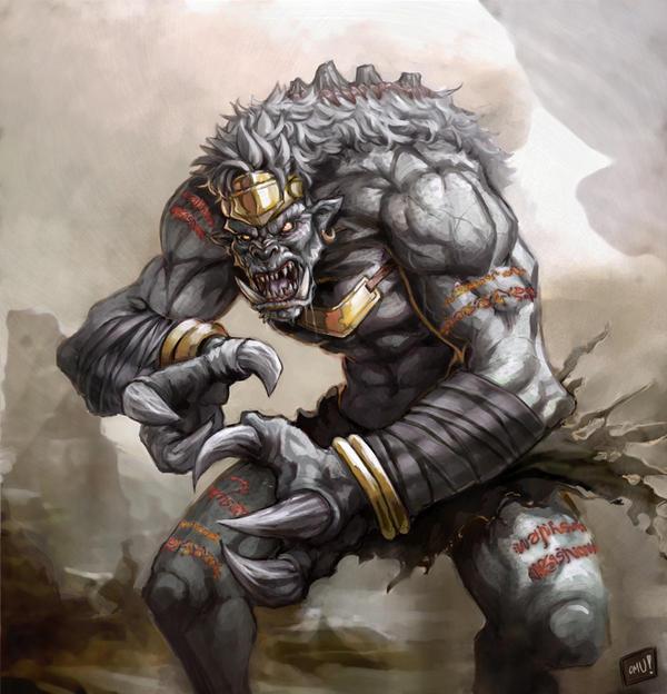 Titan-Ashura by omupied