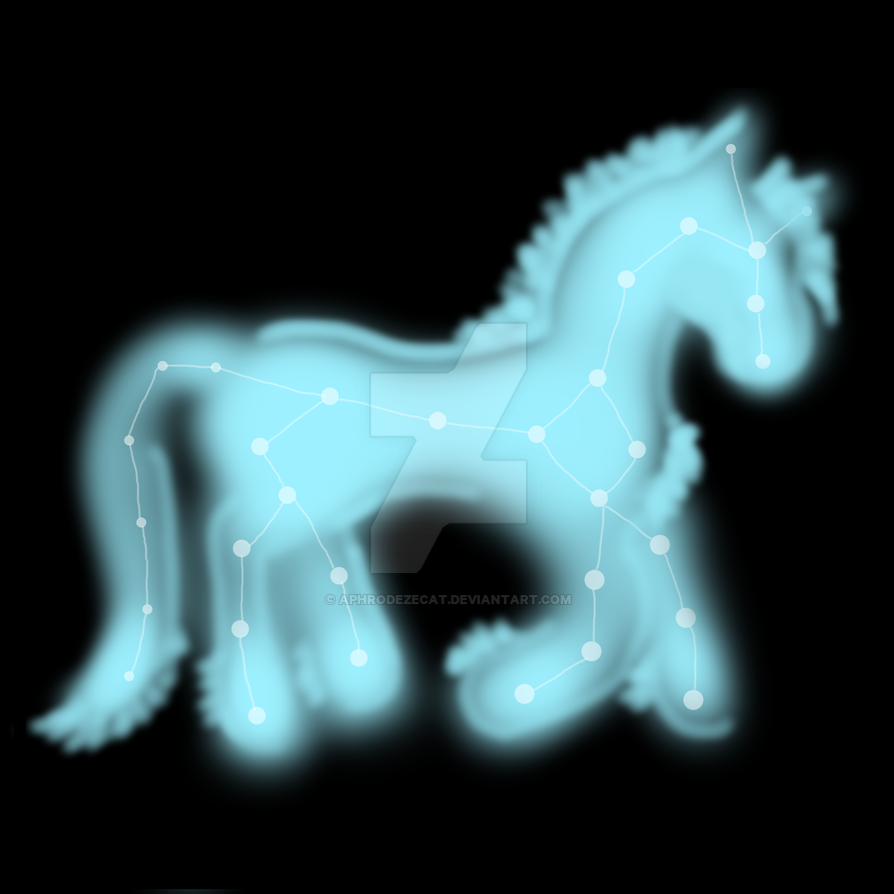 Astral Pony by aphrodezecat