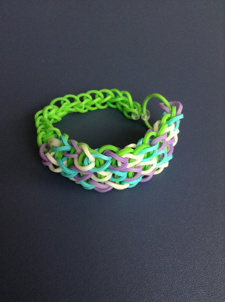 triple single bracelet by ultraashy on deviantart