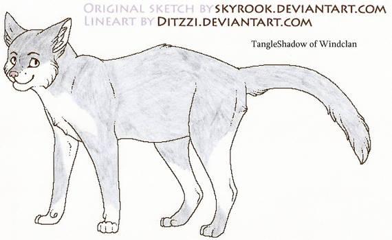 Tangleshadow of Windclan
