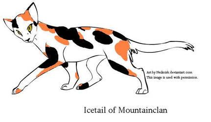 Icetail of Mountainclan by Seri-goyle