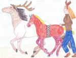 SPaVES Reindeer Race by Seri-goyle