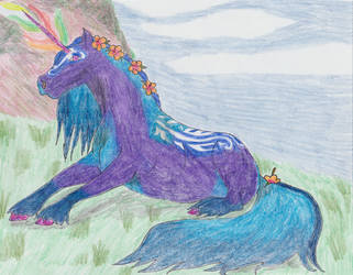 Poor Lost Stallion by Seri-goyle