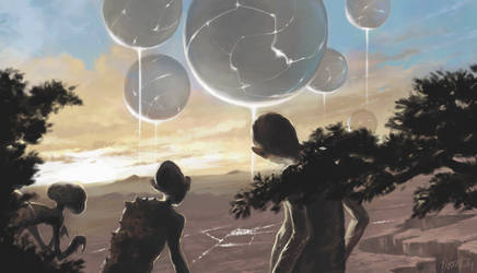 The Arrival of the Giant Orbs