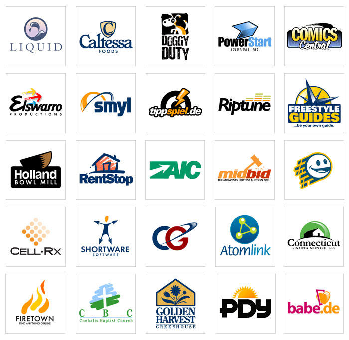 Logos by PixelTribe