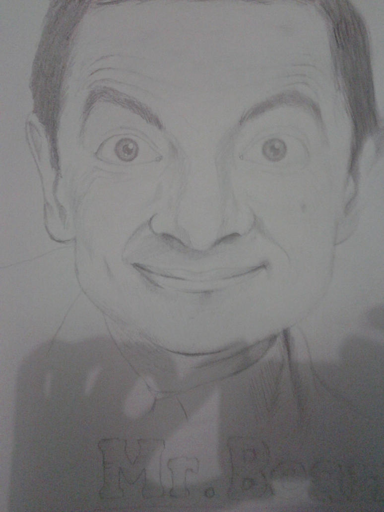 Rowan Atkinson by BlownAParte
