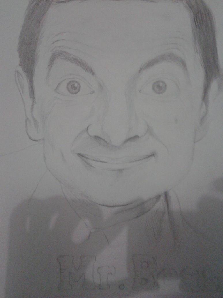 Rowan Atkinson by BlownAParte