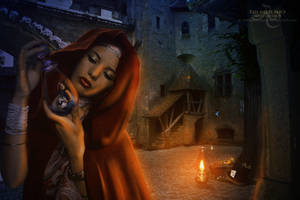 Red Riding Hood meets Alice in Wonderland by dreamswoman