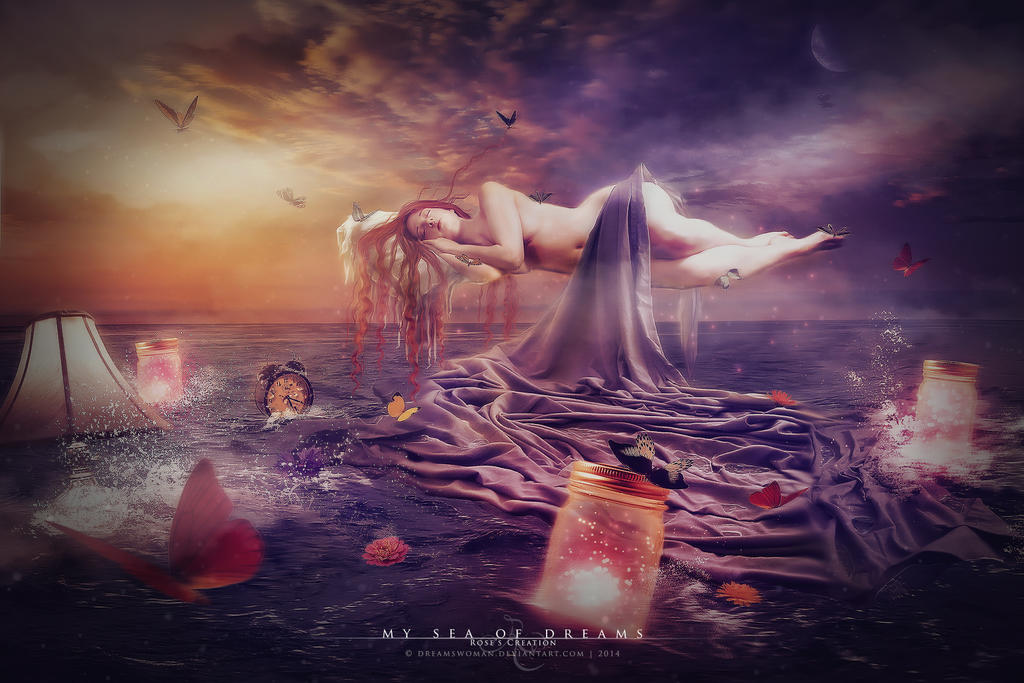 My sea of dreams by dreamswoman