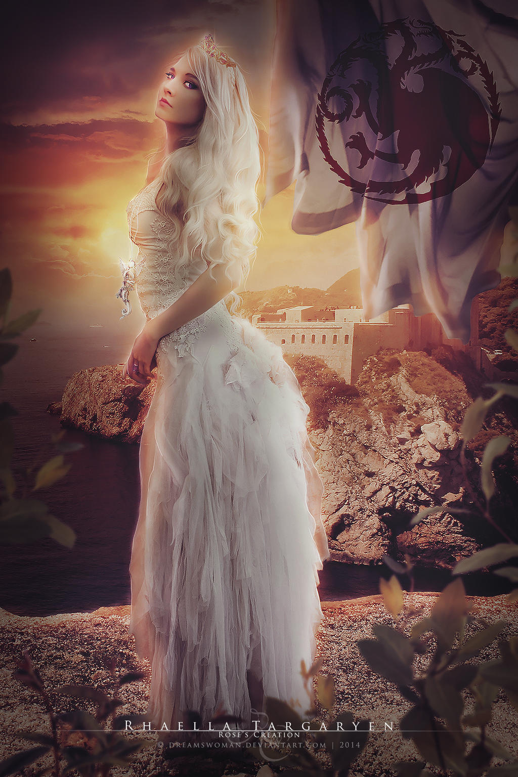 Rhaella Targaryen by dreamswoman