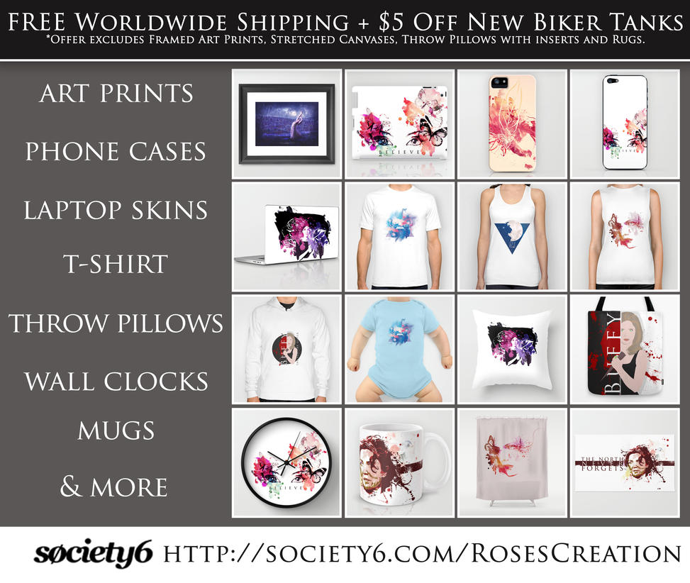 Society6 stuff by dreamswoman on deviantart for Society 6 promo code