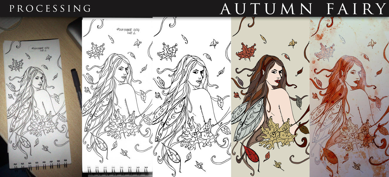 Autumn Fairy - Processing by dreamswoman