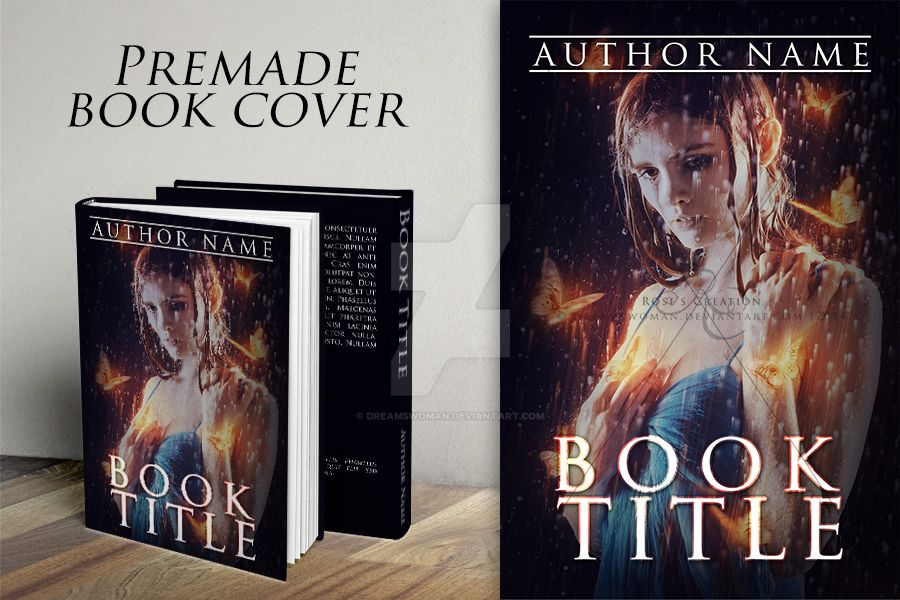 I hear your whisper... - Premade Book Cover by dreamswoman